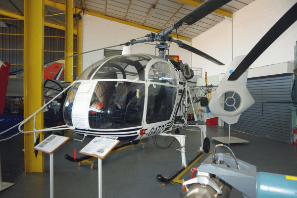 ALOUETTE II SE 3130 - Musée aviation Saint Victoret