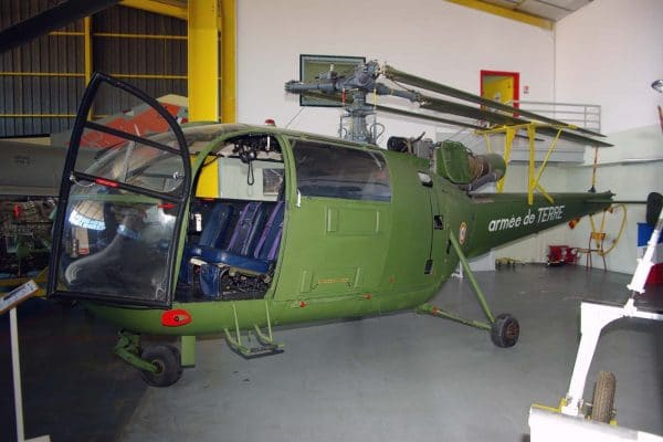 ALOUETTE III SA 316 ALAT - Musée aviation Saint Victoret