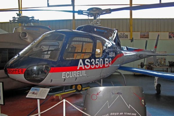 Eurocopter AS350B3 Ecureuil F-WQEX Eurocopter - Musée de l'aviation Saint-Victoret